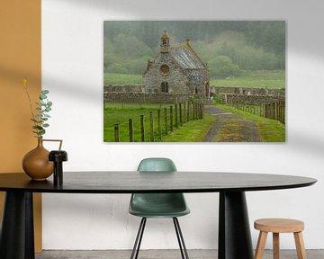 Kerkje in Schotland von René Groenendijk