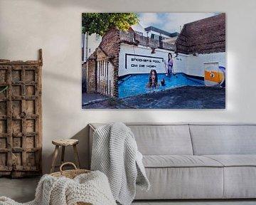 Purmerend muurschildering Snooker & Pool