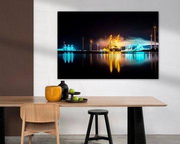 Industrie aan de haven van Aitches Photography
