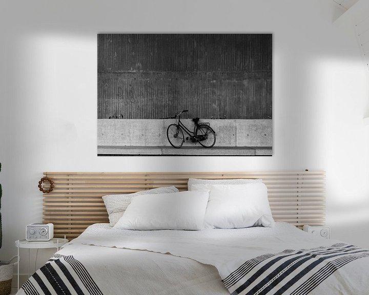Beispiel: lonely bicycle von Henk Speksnijder