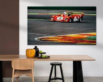 Classic Ferrari Racer 313PB 1971