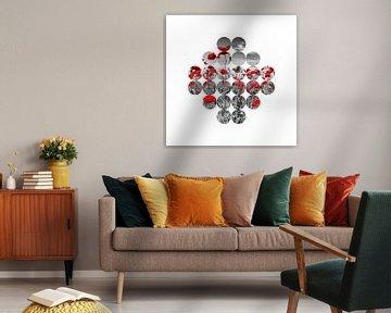 Graphic Art Mohnblumen  von Melanie Viola