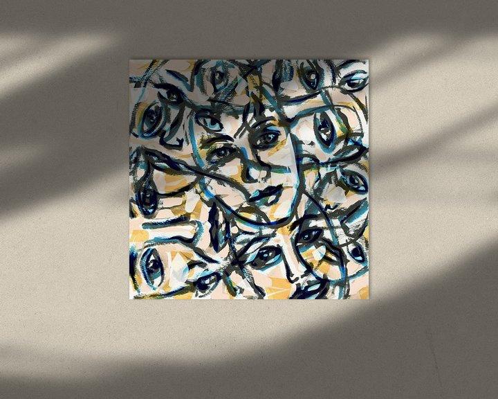 Sfeerimpressie: De mensheid van ART Eva Maria