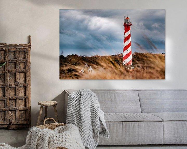 Sfeerimpressie: Vuurtoren Westerlicht van Edwin van Wijk