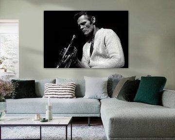 Chet Baker in concert van Paul Teixeira
