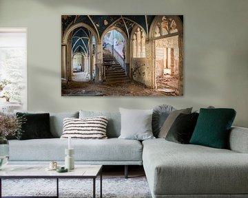Blue Castle von Steffi Reimers
