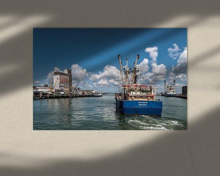 Sfeerimpressie: Vissershaven Breskens van Ellen Driesse