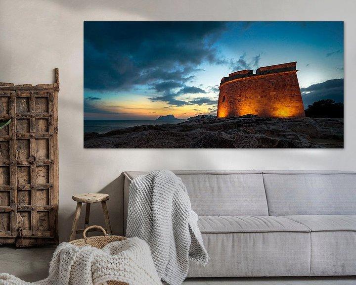 Sfeerimpressie: Castell Moraira Spanje van Peter Bolman