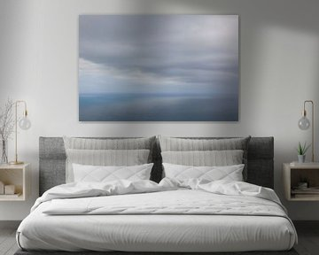 Sea and clouds united van Peter van Eekelen