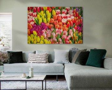 Abstrakte Tulpen von eric van der eijk
