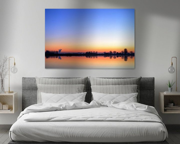 Sfeerimpressie: Early morning light Otheense Kreek van Patrice Domenique Troost