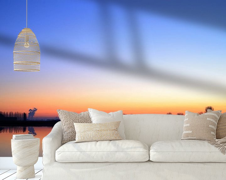 Sfeerimpressie behang: Early morning light Otheense Kreek van Patrice Domenique Troost