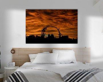 Silhouet Slot Assumburg van Yvonne van der Meij