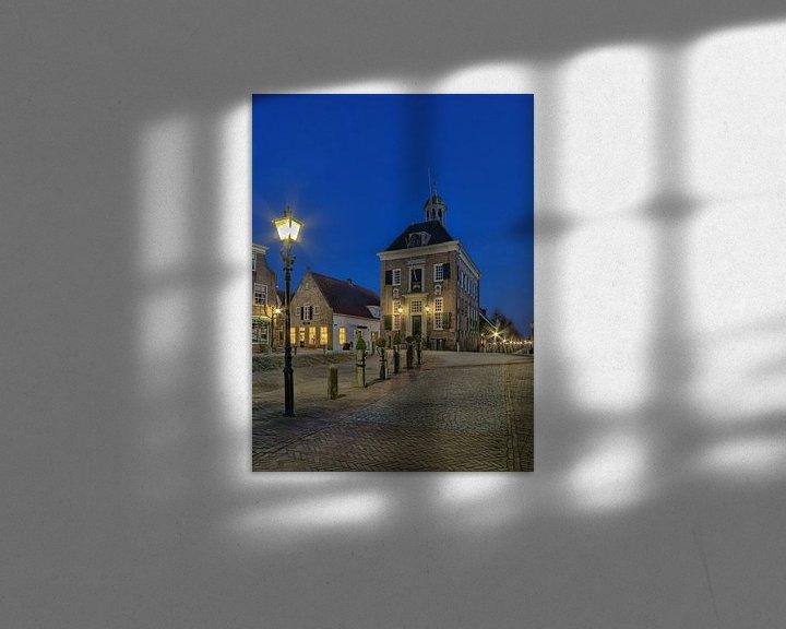 Sfeerimpressie: Stadhuis / raadhuis Nieuwpoort van Rens Marskamp
