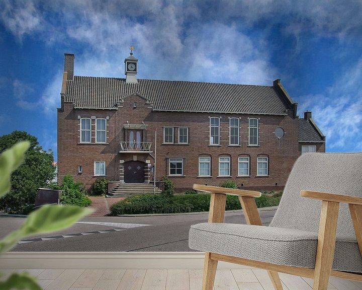 Beispiel fototapete: Oude raadshuis gemeente Arkel von Rens Marskamp