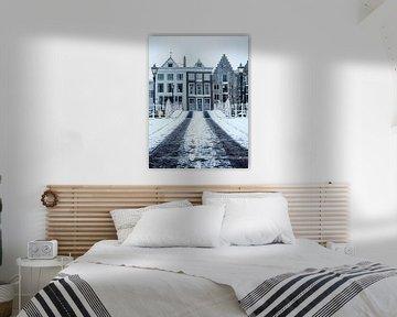 Winter in Holland van Wouter de Bruijn