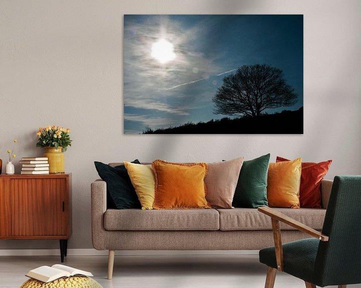 Sfeerimpressie: Lonely tree van Robbie Veldwijk