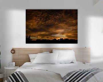 Zonsondergang Slot Assumburg van Yvonne van der Meij