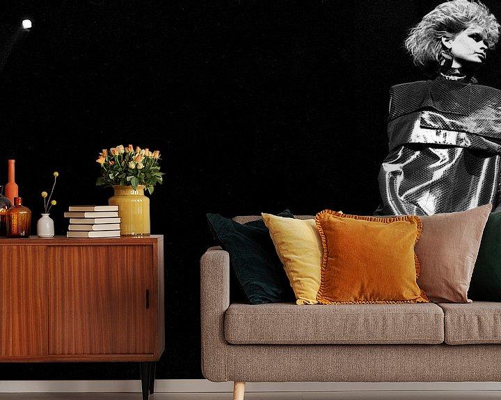 Sfeerimpressie behang: Fashion Night van Paul Teixeira
