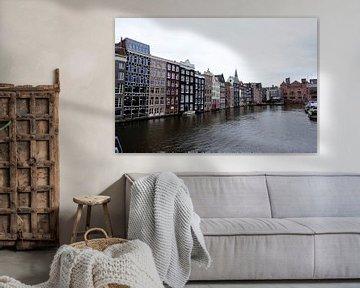 Amsterdam Damrak van Marian Klerx