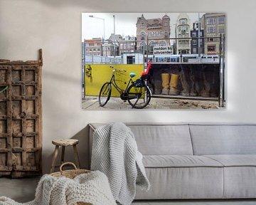 """Amsterdam, het Rokin """"op de schop"""" sur Marian Klerx"""