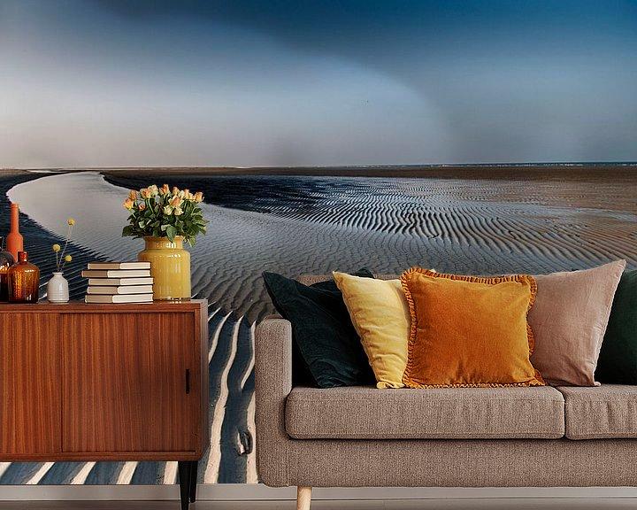 Beispiel fototapete: Sandlinien von Tineke Visscher