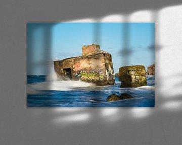 Bunker an der Küste der Ostsee von Rico Ködder