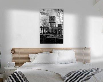 Architectuur in Utrecht: De Watertoren aan de Lauwerhof in Utrecht (II) van De Utrechtse Grachten
