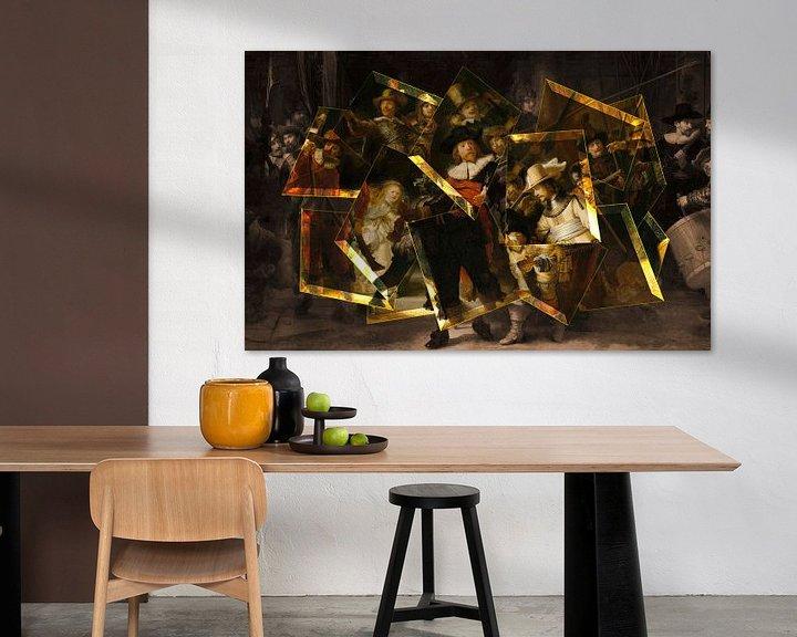 Sfeerimpressie: De Moderne Nachtwacht - Rembrandt van Rijn van Lia Morcus