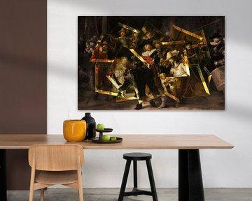 Die nachtwache - Rembrandt van Rijn von Lia Morcus
