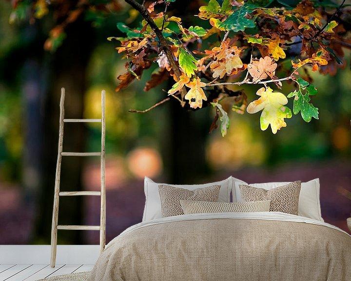 Sfeerimpressie behang: herfst van Huibert van der Meer
