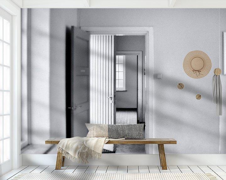 Sfeerimpressie behang: interieur van Huibert van der Meer