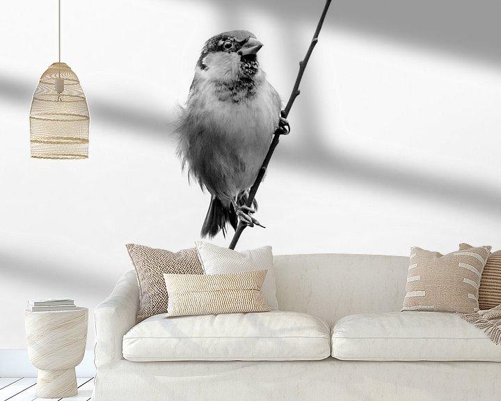 Sfeerimpressie behang: Blowing in the wind van Ruud Peters