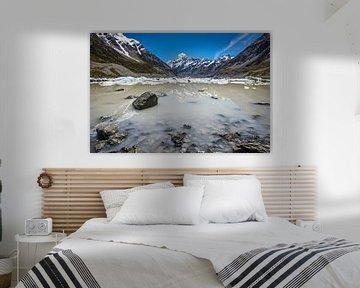 Aoraki / Mount Cook van Martin de Bock