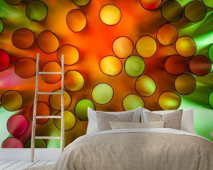 Sfeerimpressie behang: Color Explosie van Chris Clinckx
