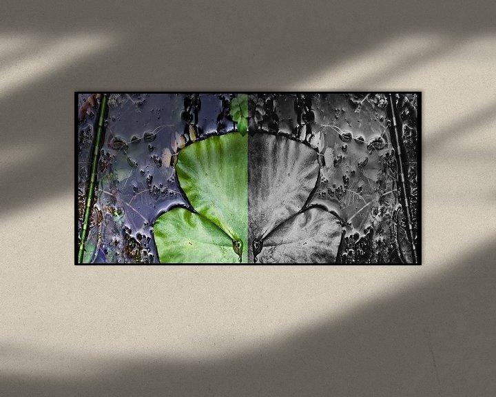 Sfeerimpressie: tweeluik  van Huibert van der Meer