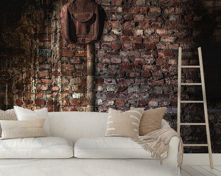 Sfeerimpressie behang: Urbex kunst en geschiedenis van Steven Dijkshoorn
