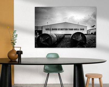 Well done is better than well said van Mirjam van der Linden