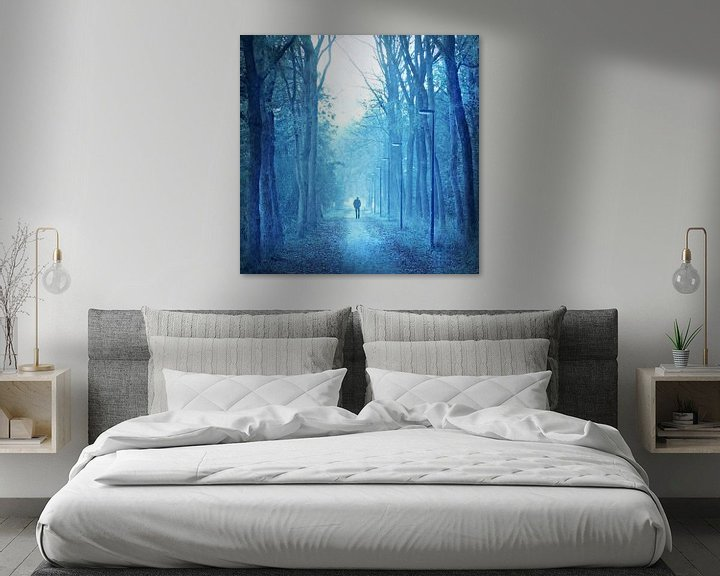 Sfeerimpressie: blue monday van bob van den berg
