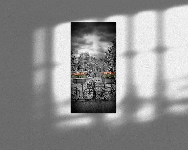 Sfeerimpressie: AMSTERDAM Herengracht   panorama van Melanie Viola