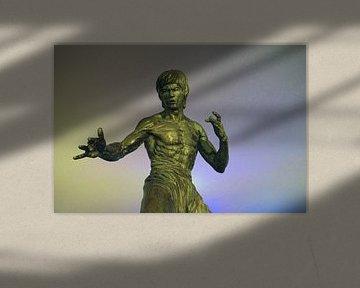 Bruce Lee kunstbeeld sur Andrew Chang