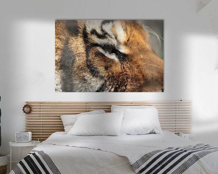 Beispiel: Sibirischer Tiger von Atelier Liesjes