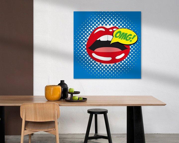 Sfeerimpressie: Tribute to Roy Lichtenstein van Harry Hadders