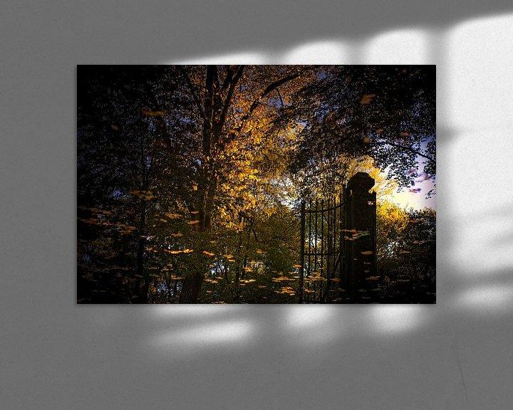 Sfeerimpressie: herfst reflecties van Huibert van der Meer