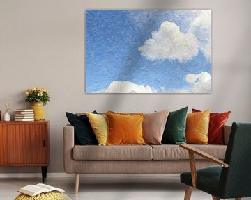 wolkenlucht van Atelier Liesjes