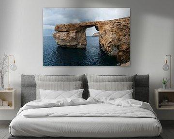azure window op Malta van ChrisWillemsen