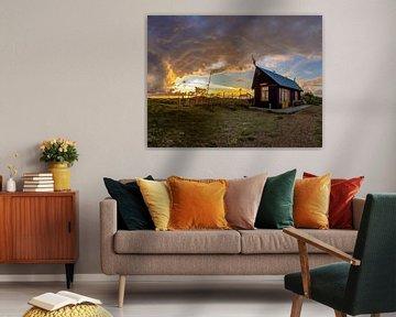 Huisje van Sil - Texel van Texel360Fotografie Richard Heerschap