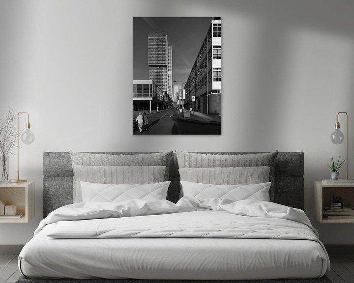 Sfeerimpressie: Kop van Zuid Rotterdam van Raoul Suermondt