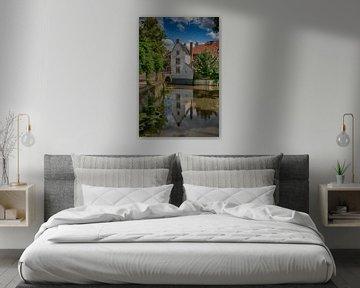 Het Witte Huisje en Heksenbruggetje Amersfoort van Manuel Speksnijder