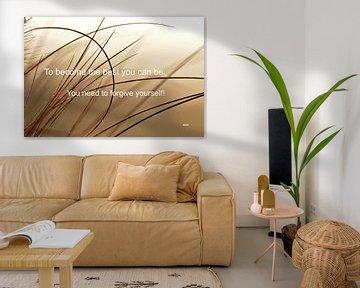 """Inspiration """"Forgive yourself"""" van henrie Geertsma"""